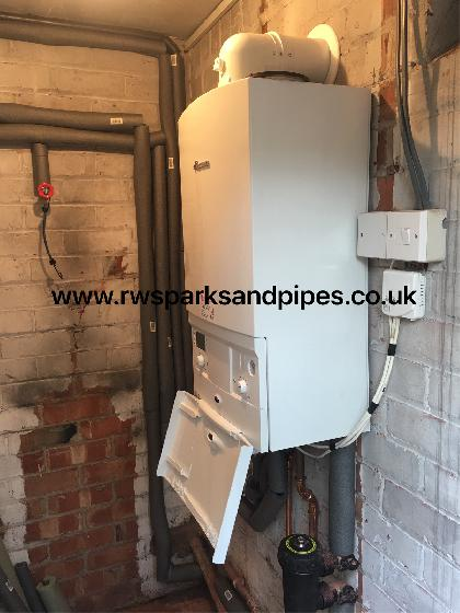 Another new Worcester boiler fitted today