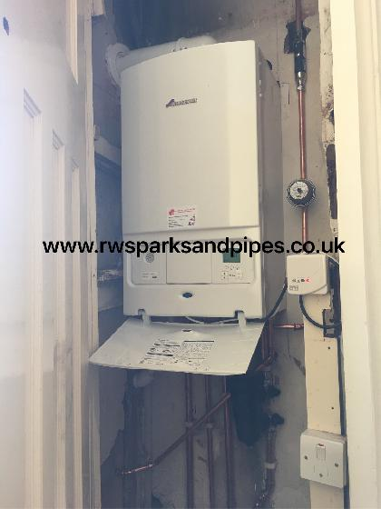 New Worcester boiler fitted