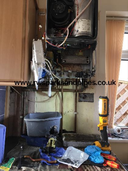 Major repairs to a Worcester Combi boiler