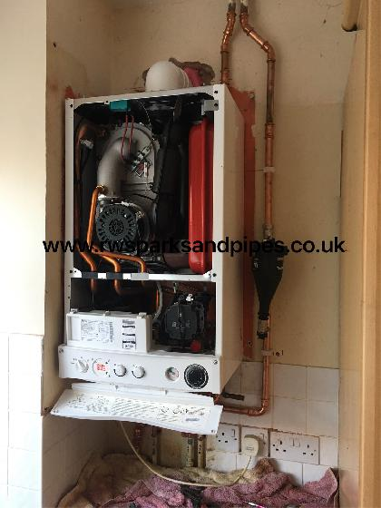 A quick new boiler fitted for a local landlord
