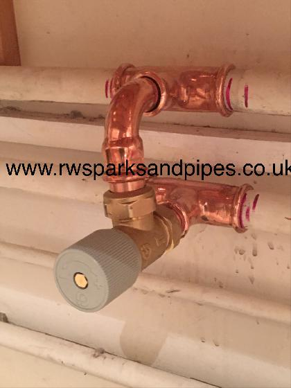 FITTING THIS NEW BY-PASS VALVE TODAY TO A LARGE HEATING SYSTEM TO STOP BANGING PIPES.